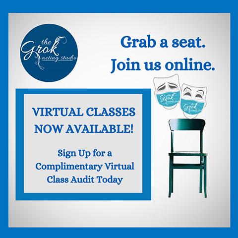 Grok Acting Studio Virtual Classes
