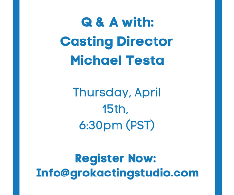 QA Casting Director Michael Testa