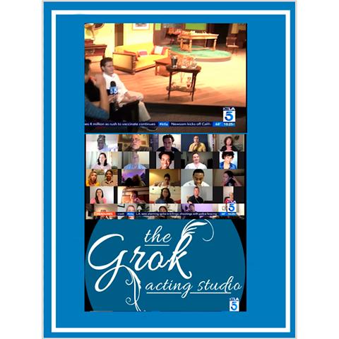 Grok Acting Studio on KTLA News